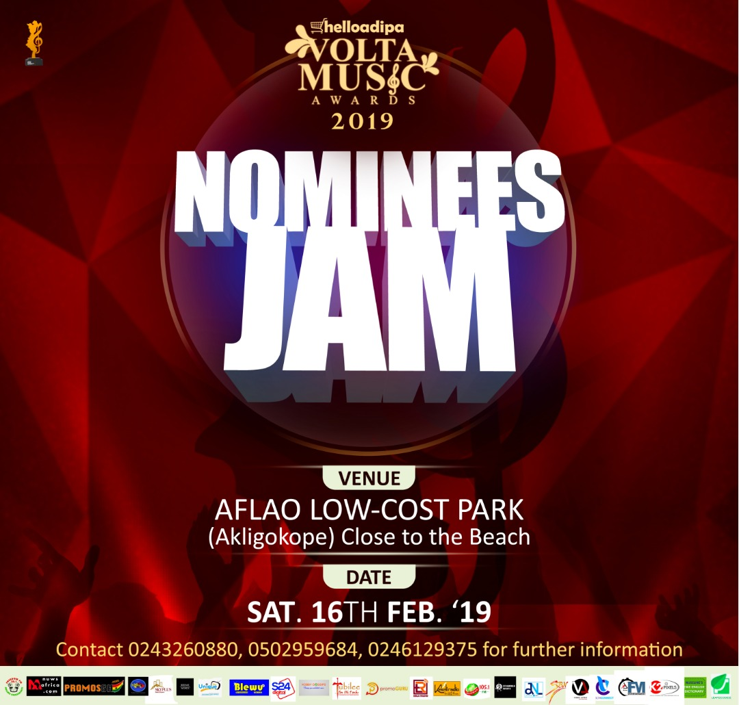 Volta Music Awards Nominees Jam Goes To Aflao